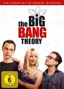 [Amazon] Big Bang Theory Staffeln 1-4 für 25,-