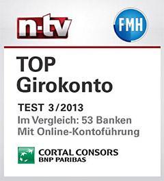 Cortal Consors - kostenloses Girokonto mit 50€ Startguthaben + 0,10€ Bonus je Kartenzahlung
