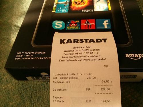 [lokal Leipzig] Karstadt: stark reduzierte Preise (z.B. Kindles)