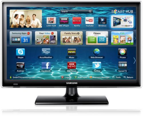 """Samsung 22"""" TV 1080p mit Wlan, Apps, Mediaplayer,LED für 188€ @ Amazon (Samsung UE22ES5400)"""