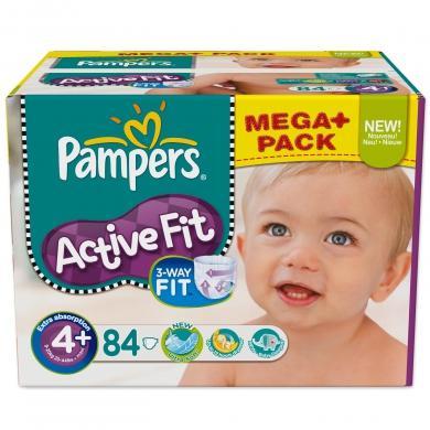 [Baby-Markt.de] Pampers Active Fit Mega Pack 19.97 + Füllartikel für VSK Frei und [Real - Offline] für 19,99 Euro