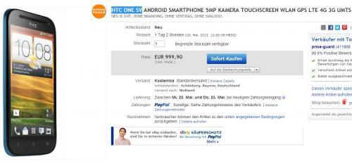 [ebay] HTC One SV