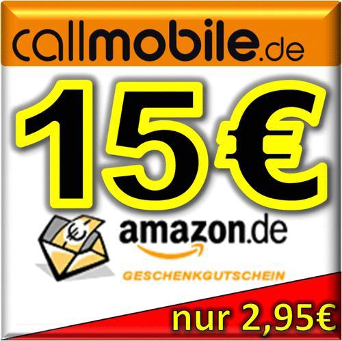 callmobile SIM-Karte + 15,00 EURO AMAZON Gutschein kostenlos