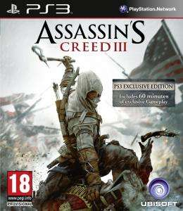 (UK) Assassin's Creed 3 (PS3/Xbox) für umgerechnet ca.17.71€ @ Zavvi