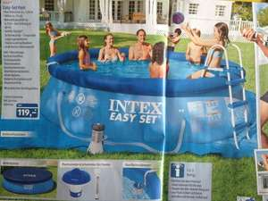 Easy-Set Pool 3,66 x 91 cm Intex Komplettset Aldi Süd ab 27.05