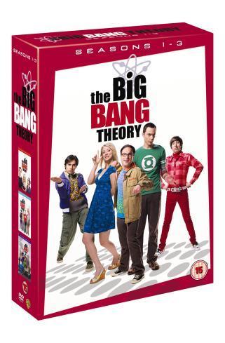 The Big Bang Theory Seasons 1-3 22,49 € bei Play.com