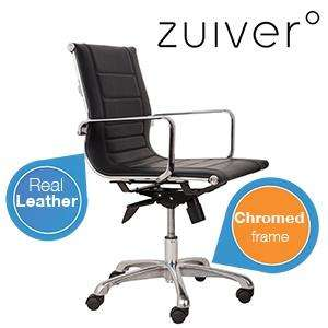 Zuiver Hendea Leder-Bürostuhl (Vitra EA 117 Optik) für 139€ @iBOOD
