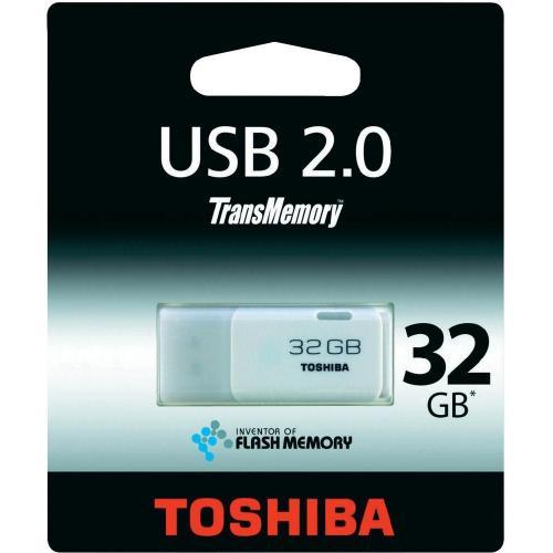 Toshiba USB-Stick 32GB Hayabusa Weiß + 3er Set Rauchmelder für 23,95 € @ conrad