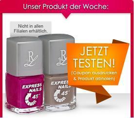 [facebook] Rossmann Produkttester - Rival de Loop Nagellack
