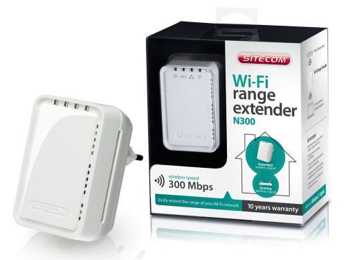 Sitecom Wi-Fi range extender N300 @ Amazon Marketplace