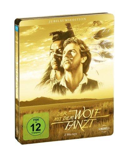Der mit dem Wolf tanzt (Special Steel Edition) [Blu-ray] [Special Edition] für 13,97 € @ amazon.de