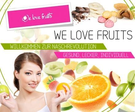 7,50 statt 15 Euro für Deinen selbst kreierten Snack von WeLoveFruits – nasch Dich gesund! @Dailydeal