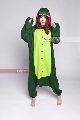 "Mydealz/Krokodil/Dinosaurier Kostüm ""Jump Suit"""