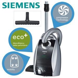 "Siemens Z5.0 Staubsauger Green Power Edition, Stiftung Warentest ""gut"""