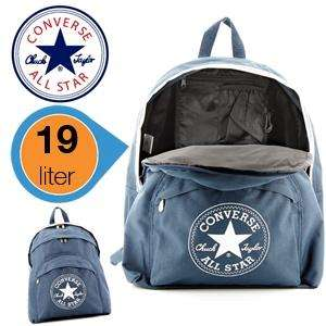 Converse All Stars Rucksack in dark denim blau