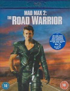 Blu-Ray - Mad Max 2 (The Road Warrior) für €5,29 [@Wowhd.co.uk]