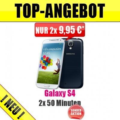 Galaxy S4 16 GB mit Schubladenvertrag für effektiv 478,60 EUR