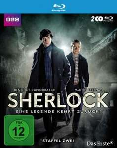Sherlock - Staffel 2 (Blu-ray), versandkostenfrei