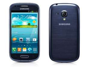Samsung Galaxy S3 Mini pebble blue für 199,- bei Base