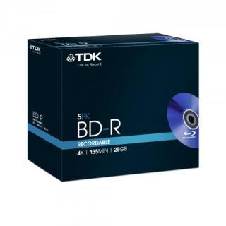 Vorbestellung bei Mindfactory TDK 25GB BD-R T78008/ 5 Stk. 2,86€ (0,57€/Stk.) zzgl. Vers. 6,99€