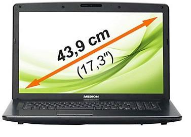 MEDION AKOYA P7815 (MD 98306) (17 Zoll)  (Intel Core i5-3230M, 2,5GHz, 8GB RAM, 1TB HDD, NVIDIA GT 640M, FullHD Matt, Win 8)