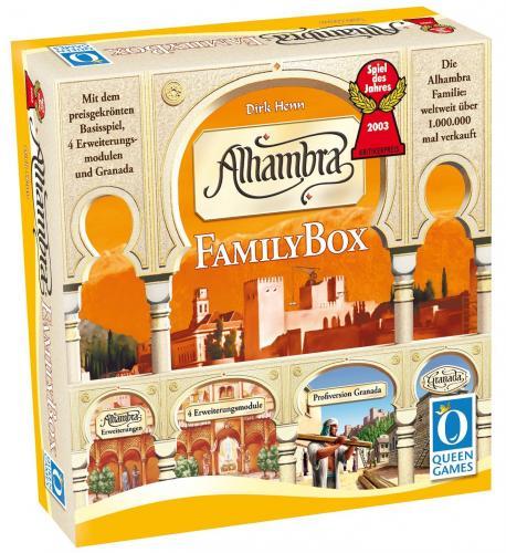 (Gesellschafstsspiel) Alhambra-Family Box - Queen Games 6035 für 27,91 €