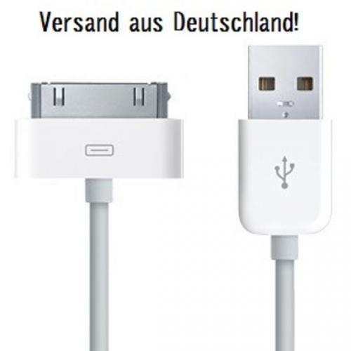 USB 2.0 Datenkabel für iPod & iPhone für nur 1,30 EUR inkl. Versand