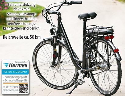 """[Offline][Lokal?] Aldi-Süd: Cyco Alu-Elektro-Fahrrad 71 cm/28"""""""