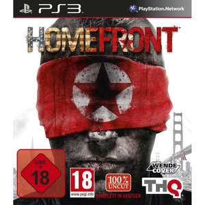 [Amazon-Osternest] Homefront (uncut) PS3 für 32,97€  [PC für 24,97€, 360 für 41,97€]