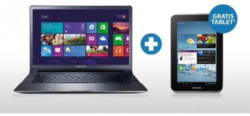 Samsung Serie 9 / All-In-One PC Serie 7 oder Serie 5 bestellen, Galaxy Tab 2 (7.0, WiFi, 8GB) gratis @ Alternate.de
