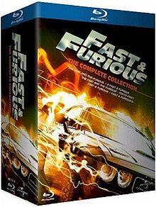 Fast & Furious - The Complete Collection (Teile 1-5) DVD für 15 €, Bluray für 25 €
