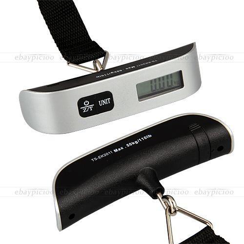 Praktische digitale Koffer-/ Handwaage 50kg/50g für 7,12€ @Ebay