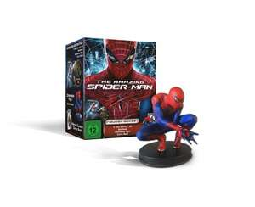 [Amazon] The Amazing Spider-Man (3D 2-Disc, Figuren-Box-Set, Steelbook, inklusive Comic) [Blu-ray 3D]