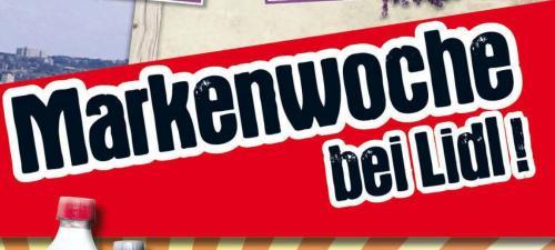 Markenwoche bei Lidl  (Bundesweit 27.05. - 01.06., z.B. Wagner Steinofenpizza 1.66€, Senseo Kaffee-Pads 1.69€ )