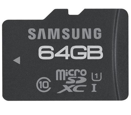 64 GB Micro SDXC Speicherkarte Samsung Class 10 für nur 40,99 EUR inkl. Versand