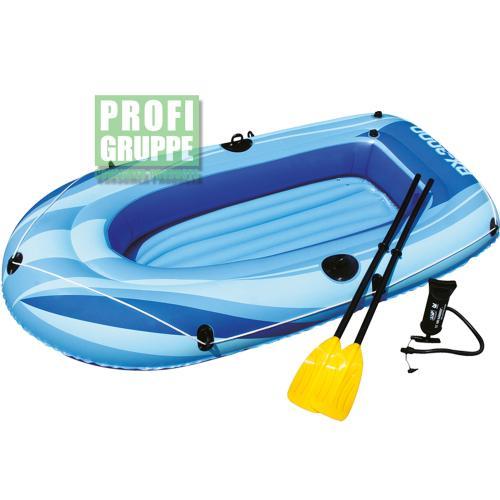 BESTWAY 2 Personen Schlauchboot HYDRO-FORCE RX-4000 + Paddel & Pumpe