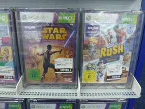 [Lokal Saturn Duisburg] Kinect Star Wars + Disney Rush je € 10