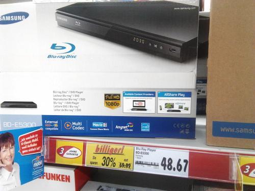 [LOKAL KAUFLAND JENA-NORD] Samsung BD-E5300