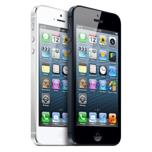 Apple iPhone 5 16GB schwarz für 424,30€
