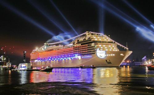 Transatlantik-Kreuzfahrt mit der MSC Magnifica von Brasilien nach Hamburg im März 2014, ohne Single-Zuschlag