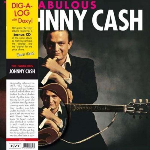 (JPC) The Fabulous Johnny Cash (180g) (Limited Edition) (LP + CD) für 12,99 €