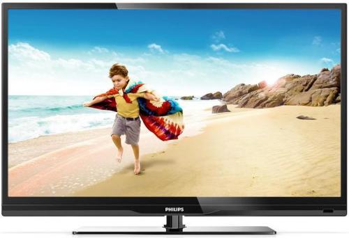 Philips 46PFL3807K/02 117 cm (46 Zoll) LED-Backlight-Fernseher, EEK A+ (Full-HD, 100Hz PMR, DVB-C/-T/-S, CI+, Smart TV) schwarz