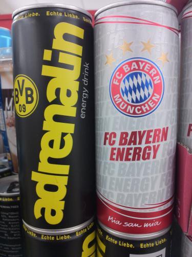 FCB und BVB Energy Drink beim Netto Markendiscount