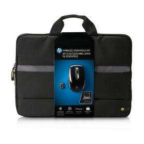 HP wireless Maus inkl. Tasche package (Wifi Essentials Kit)