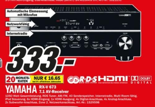 [Lokal Bielefeld] Yamaha RX-V673