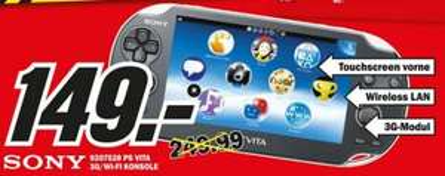 [Lokal - Osnabrück] Sony PS Vita 3G 149€