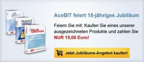 Acebit verschiedene Pakete zu je 15 EURO