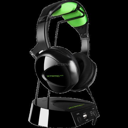 "Sharkoon Headset kabellos PC/XBOX/PS ""X-Tatic Air"" mit Akku-Ladestation 59,90€"
