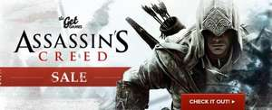 Assassins Creed Sale bei Get Games
