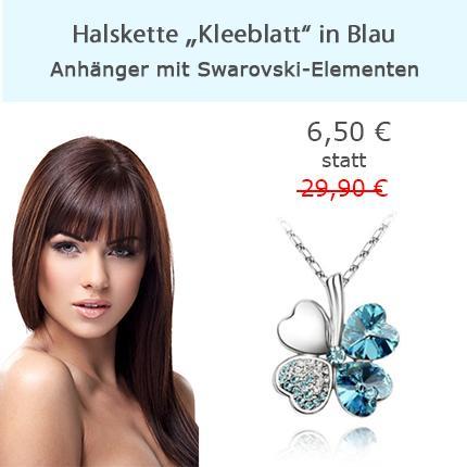 Halskette mit Swarovski Elements für 6,50 € statt 29,90 € inkl. Versand